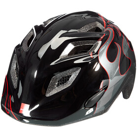 MET Elfo Helmet Kids black flames